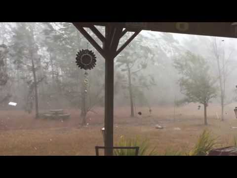 Strong Storms Pound North Carolina Coast