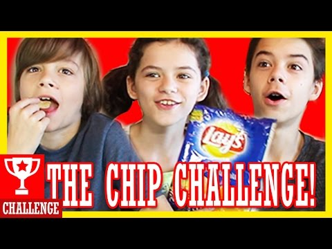 THE CHIPS CHALLENGE!  10 WEIRD EXTREME FLAVORS! |  KITTIESMAMA