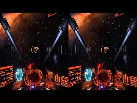 Elite: Dangerous 30 minutes of 3D fun [SBS]