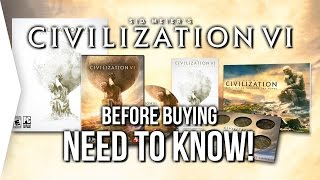 Civilization VI ► 5 Things You NEED TO KNOW Before Buying Civ 6!