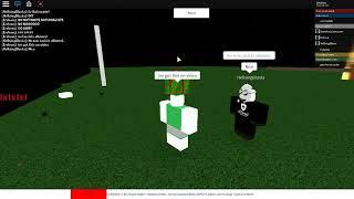 ROBLOX exploiter wk1r/hellsingblasta ruins game with racist propaganda
