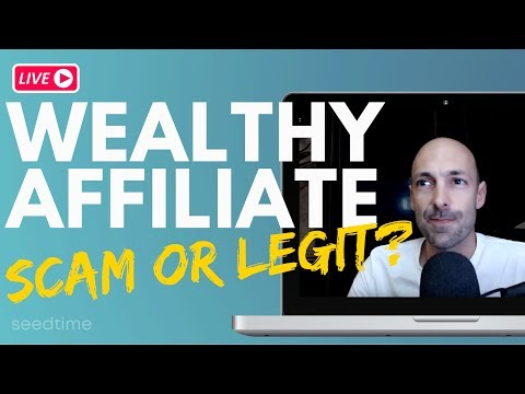 Is Wealthy Affiliate a Scam or Legit?  (2019 review)