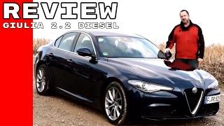 Alfa Romeo Giulia 2.2 Diesel Review