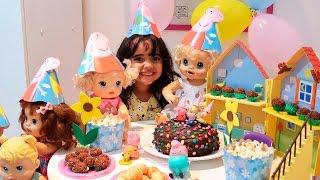 BABY ALIVE  - Festa de Boas Vindas Alice Com BIA LOBO