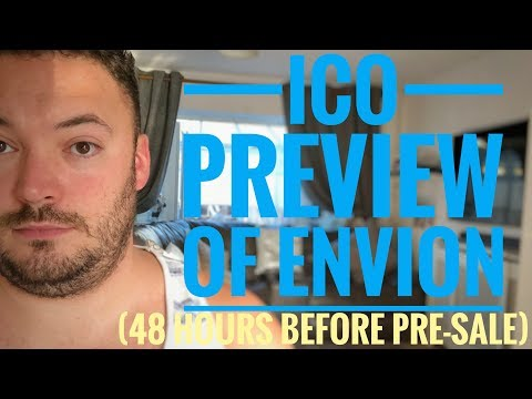 ICO Preview of Envion AG (48 hours before pre-sale starts)