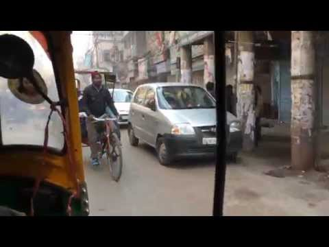 India / New Delhi / Tuk Tuk Ride