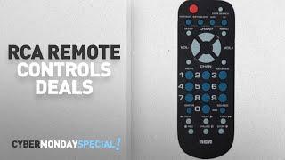 Walmart Top Cyber Monday RCA Remote Controls Deals: RCA RCR504BR 4-Device Palm-Sized Universal