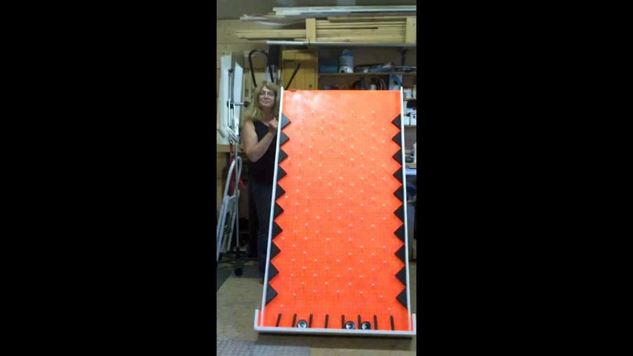 My First Build Of A Plinko Game Youtube