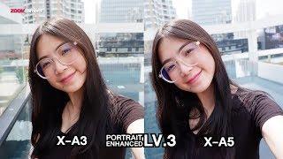 รีวิวเทียบความเนียน Fujifilm X-A5 vs Fujifilm X-A3 อันไหนสวยที่สุด
