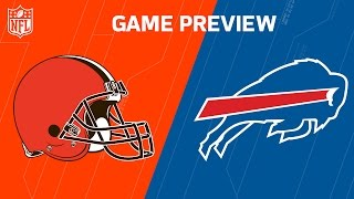 Browns vs. Bills | NFL NOW | Week 15 Previews