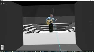 Holographic Livestreaming - Virtual Arena Stage