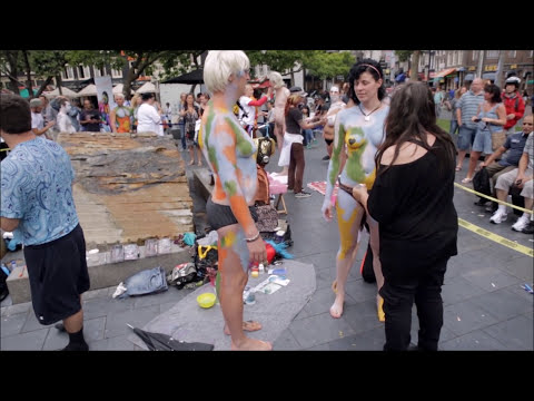 Amsterdam Bodypaint Day 2015 Compilation