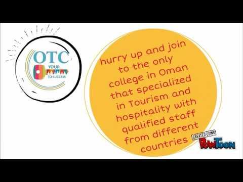 Study at Oman Tourism College (OTC)