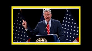 Bill de blasio projected to cruise to reelection in new york city