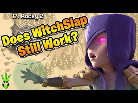 Does Witch Slap Still Work? - TH9 War Live Attacks - Clash of Clans - 3 Star Strategy