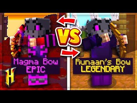 Hypixel Skyblock : RUNAAN'S BOW VS MAGMA BOW! l Minecraft Skyblock (64)