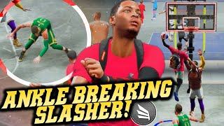 Best Badge For Ankle Breakers! Contact Dunking Everyone OMG! NBA 2K20 Park