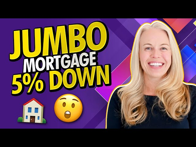 Jumbo Mortgage Loans Are Only 5% DOWN! 2021 Jumbo Loans Are Back - What You Need To Know 🏠