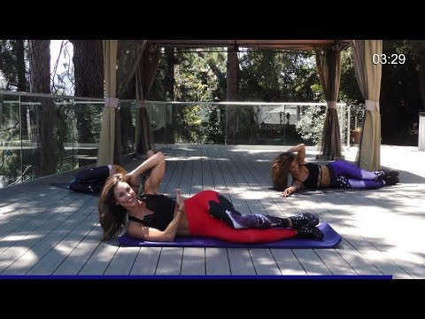 Ab Workout - Ab Exercises at Home - How To Get A Flat Stomach Fast