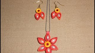DIY: How to make Quilling Earrings