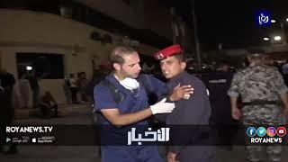 وزير الداخلية ومديرا الأمن العام والدرك يزورون المصابين من الدرك في احتجاجات الرابع
