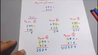 Truco Para Multiplicar Abreviadamente de Tres Cifras por Tres Cifras