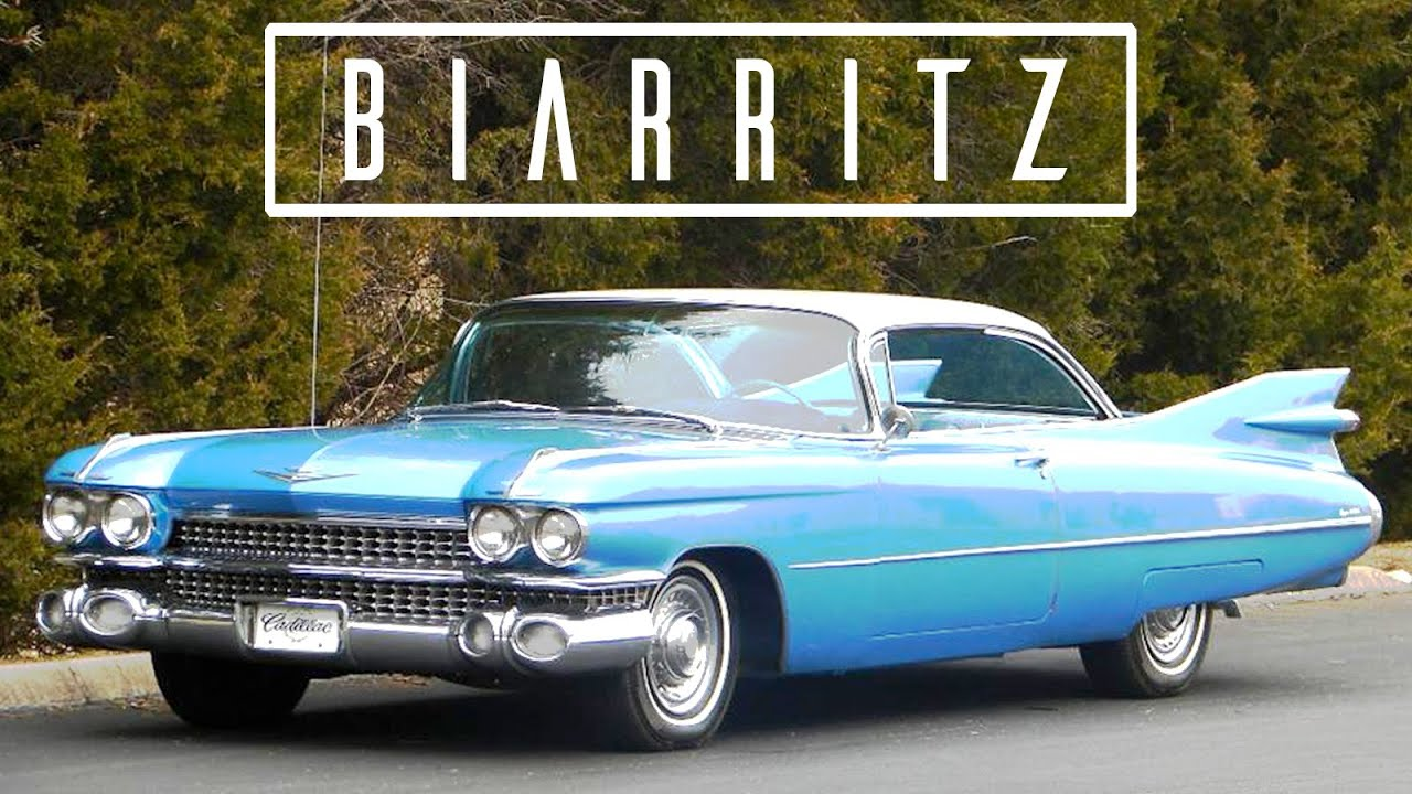 CADILLAC ELDORADO BIARRITZ 1959  Modest test drive  Engine sound