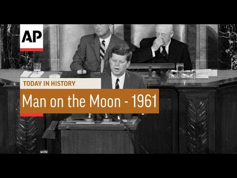 President Kennedy's Man on the Moon Speech - 1961 | Today in History | 25 May 16