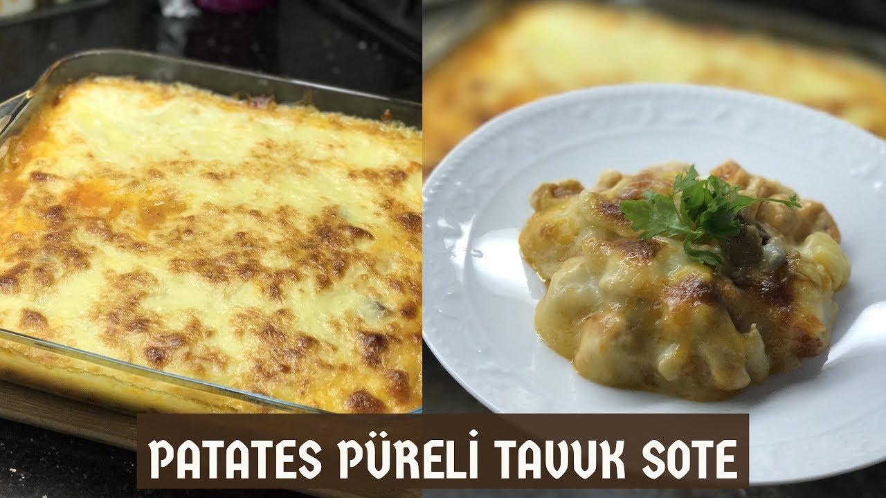 Patatesli Tavuk Sote Videosu