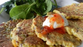 How To Make Super Quick Corn Fritters
