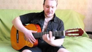 Кино 'звезда по имени солнце' подробный разбор на гитаре
