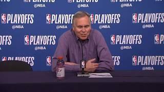 Mike D'Antoni Postgame Interview | Rockets vs Timberwolves - Game 3 | April 21 | 2018 NBA Playoffs