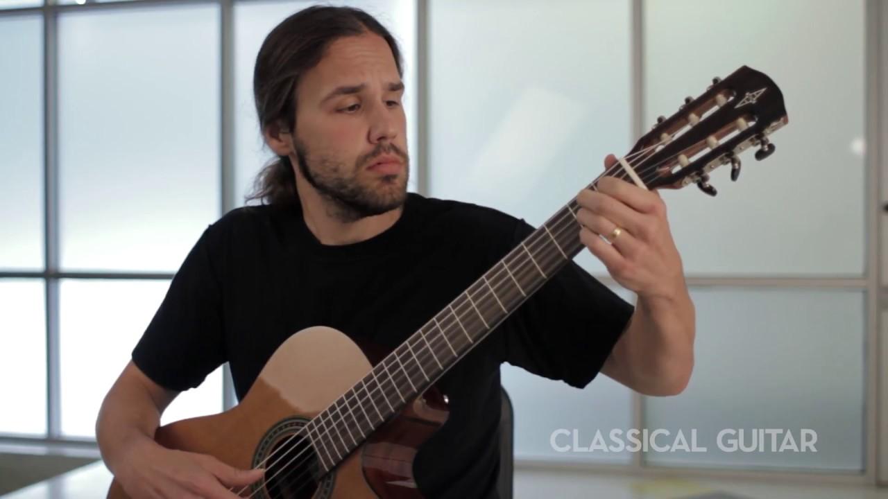 Alvarez Ad70Sc Acoustic Electric Guitar playing around with brand new alvarez classical guitar