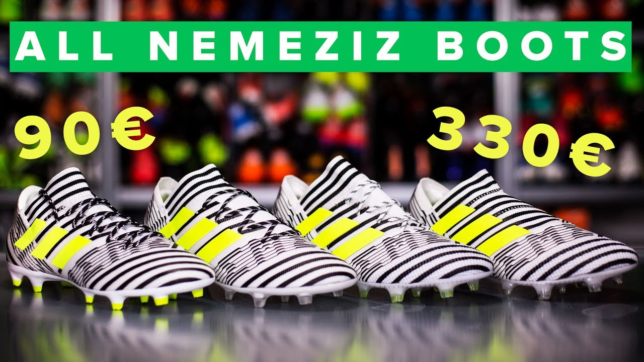 85e91af123a3 CHEAP vs EXPENSIVE adidas Nemeziz 17 football boots explained - YouTube