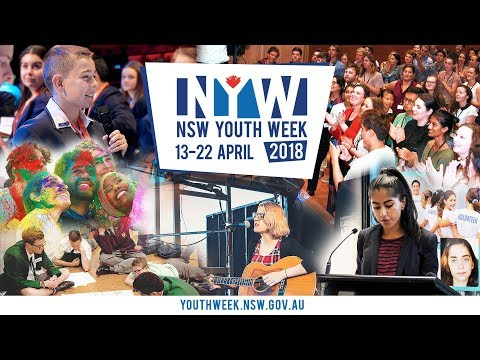 Youth Week is on
