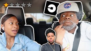 PICKED MY LIL SISTER UP IN AN UBER UNDER DISGUISE *went terrible*