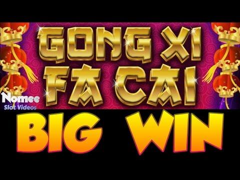 Gong Xi Fa Cai Slot Machine - Big Win - House Money!