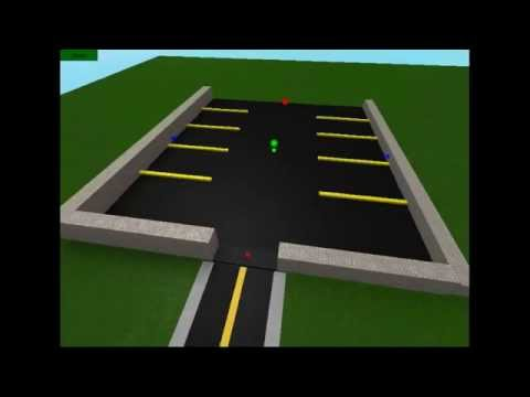 How To Make A Parking Lot From Scratch Roblox Studio Youtube
