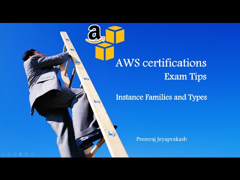 Aws Certifications Exam Tips Ec2 Instance Families And Types
