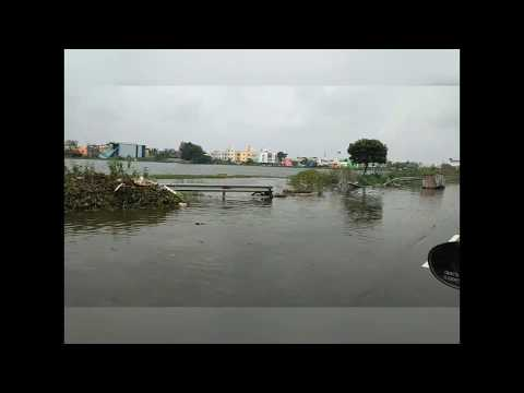 Short drive at pallavaram radial road... after rain...