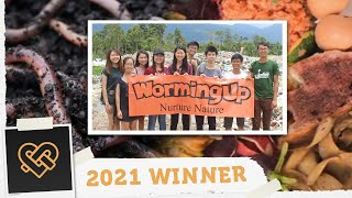 WormingUp to support environmental sustainability | Golden Hearts Award 2021