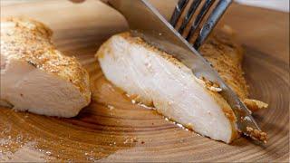 닭가슴살을 닭다리살처럼 촉촉하게 만드는 방법 / 닭가슴…