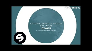 Antoine Delvig & Walcus - Say What (OUT NOW)