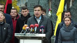 Саакашвили: Единственный переворот, который я готовлю - переворот сознания!