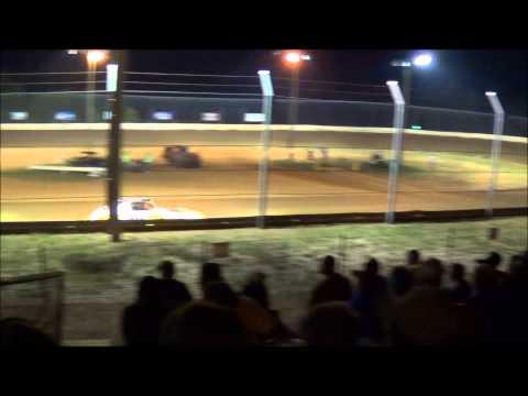 Doe Run Raceway Mini Stock Heat 9-19-14