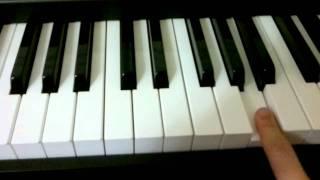 Чёрный бумер на пианино как играть