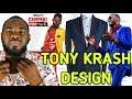 Jamaican Fashion Designer Tony krash   Campari pop style Kingston JA.