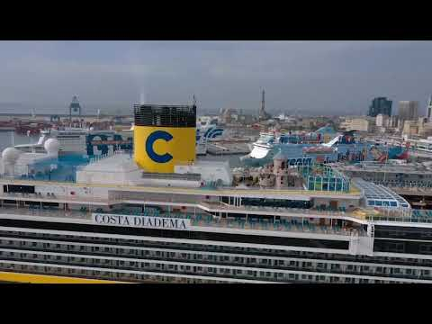 Costa Diadema Sailing again today- Amazimg measures taken to resails