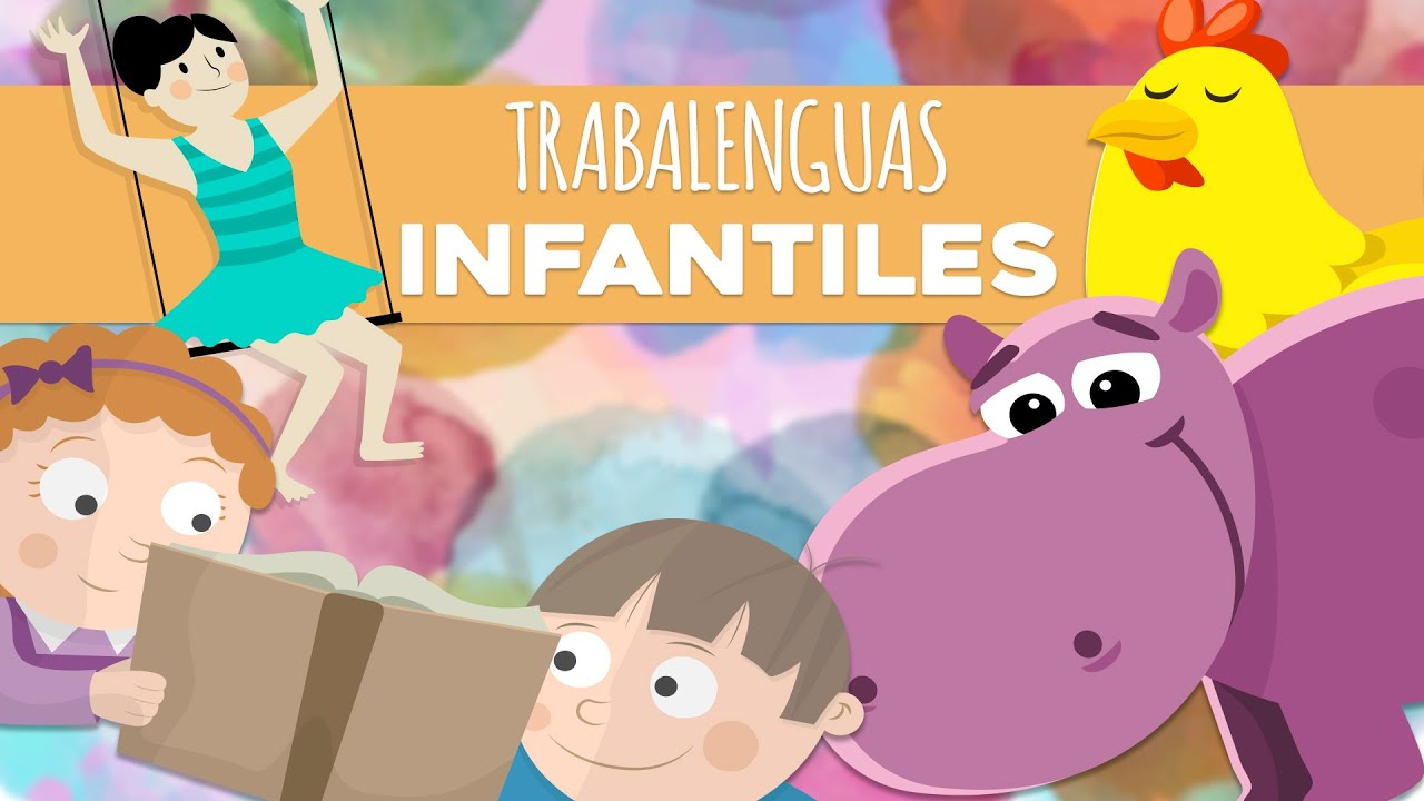 Trabalenguas Faciles Infantiles Juegos Educativos Para Ninos Youtube