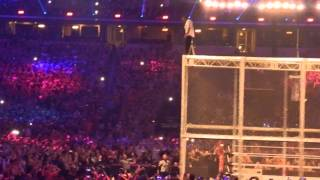 Shane McMahon Jumps Off Hell In A Cell At WrestleMania - My View